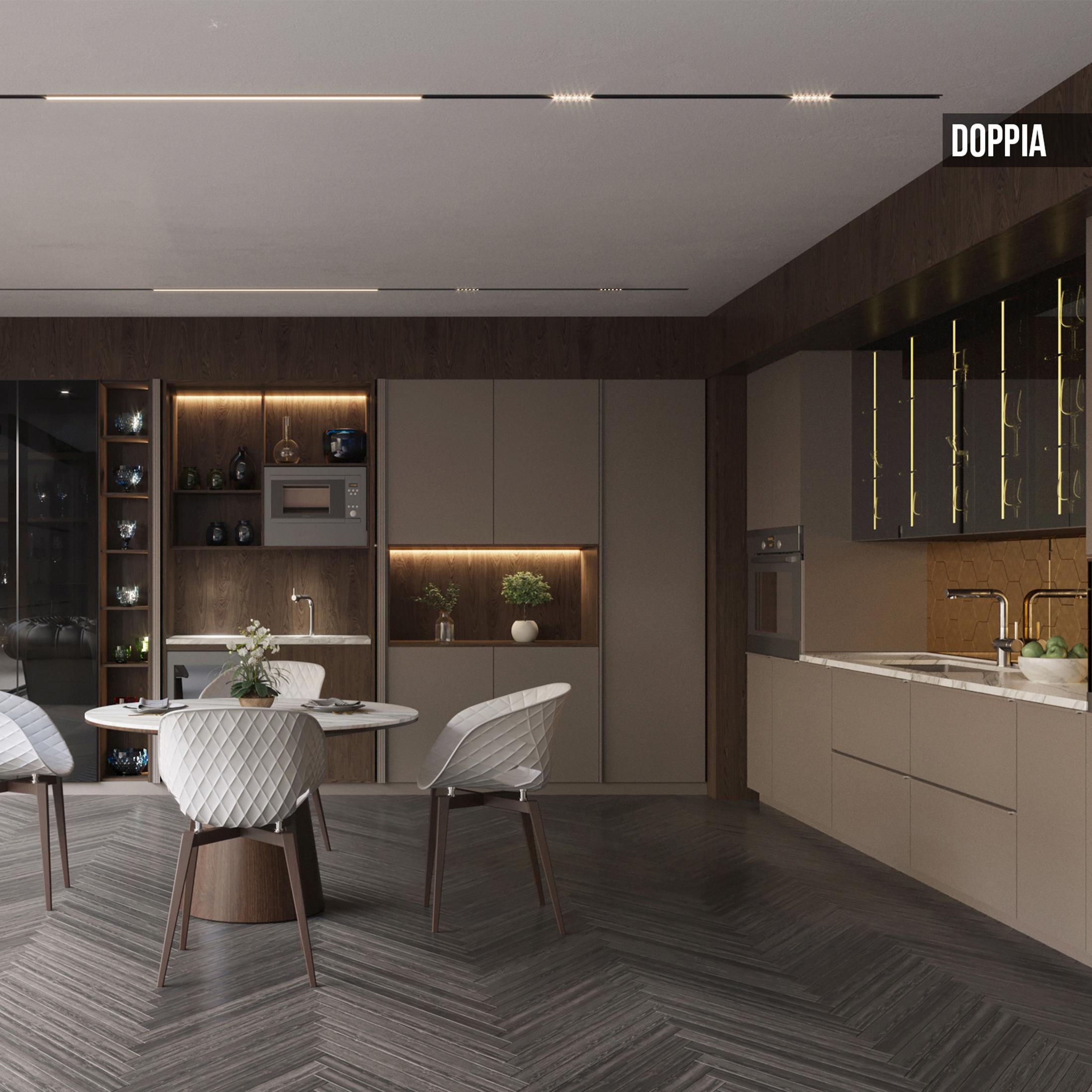Kafco Aluminum Kitchen - Doppia