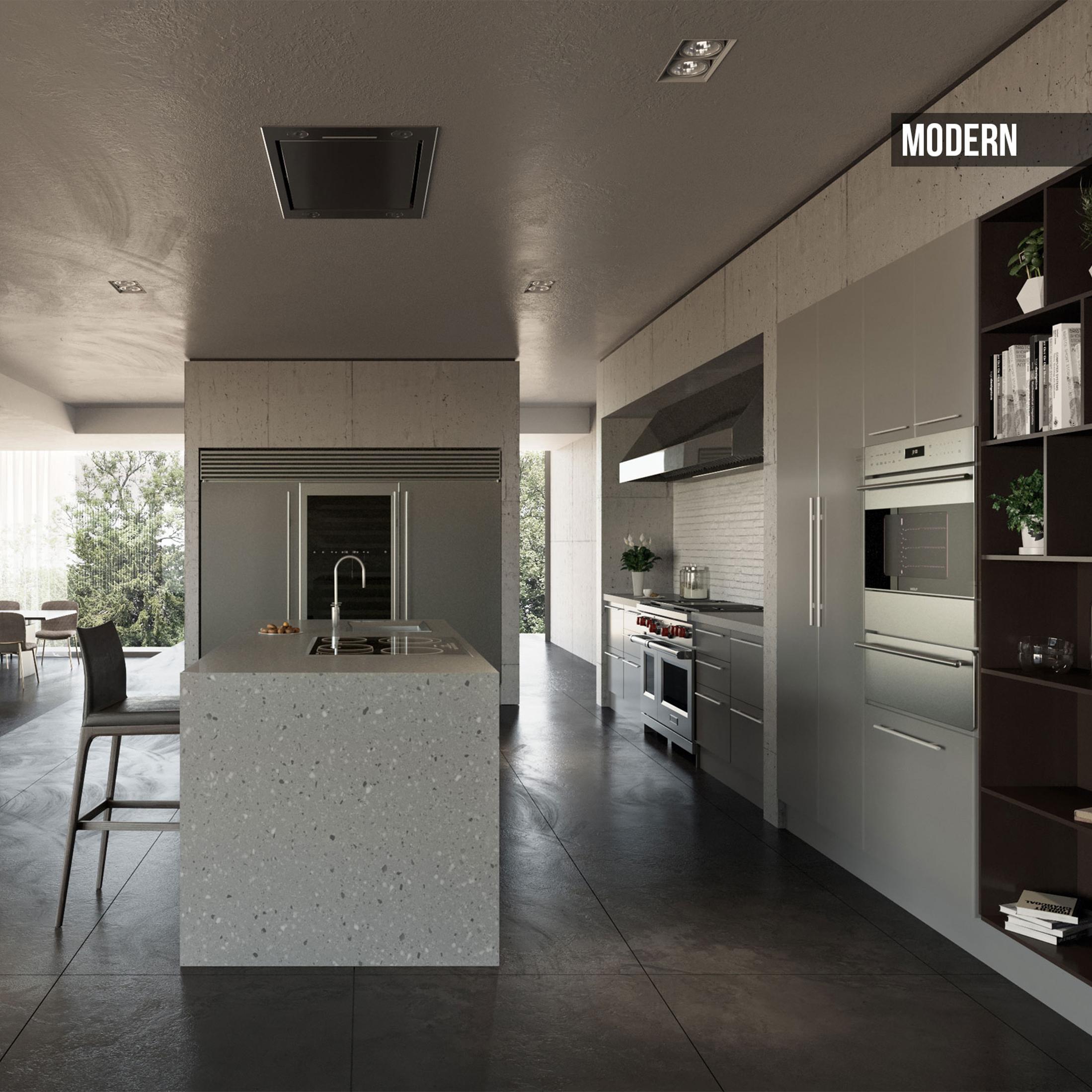 Kafco Aluminum Kitchen - Modern