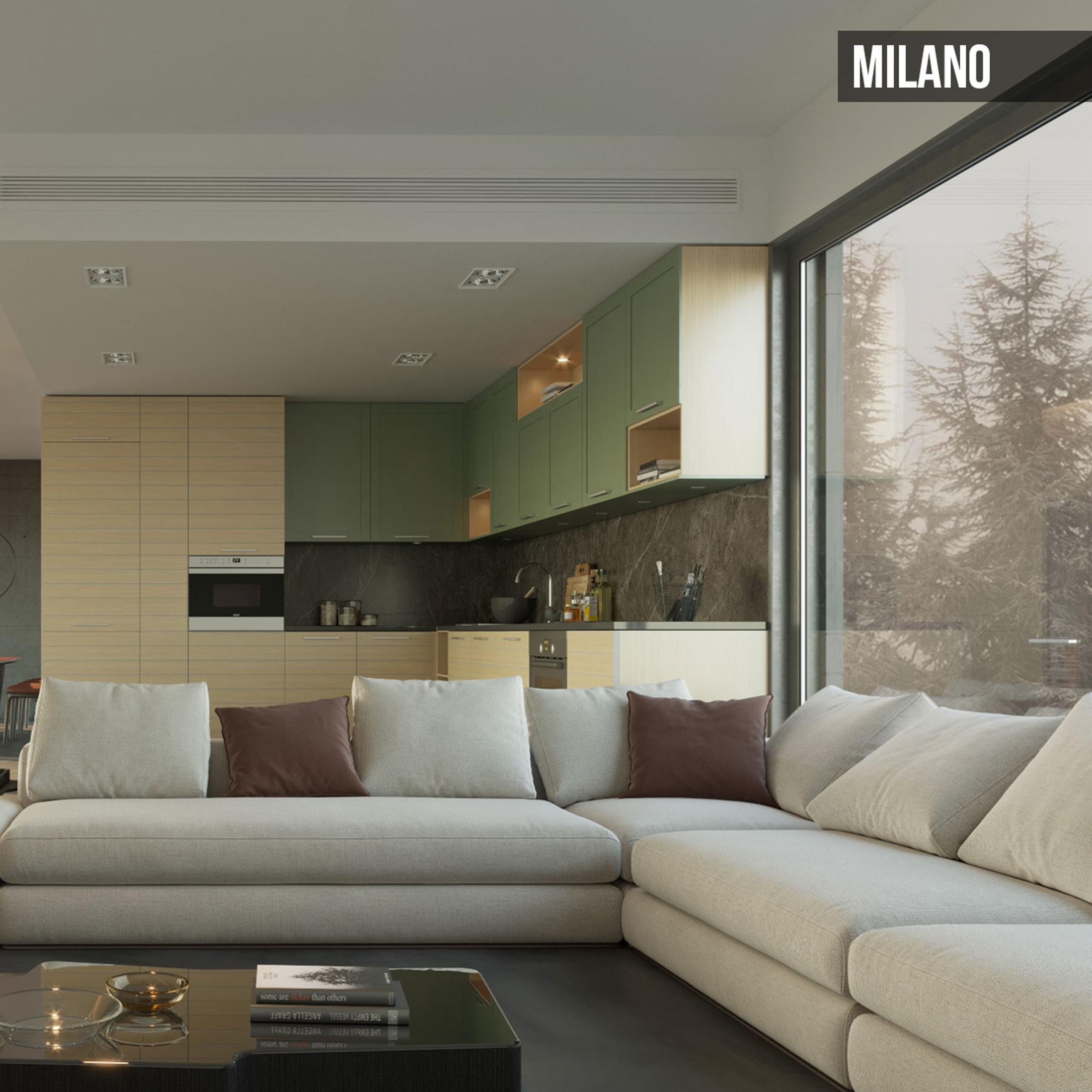 Kafco Aluminum Kitchen - Milano